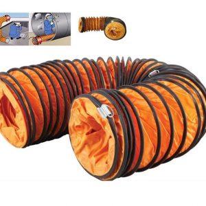 Ống gió mềm lõi thép - ống gió simili giá rẻ nhất