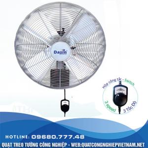 Ứng dụng của quạt treo tường Dasin KWP 2460