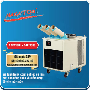 Bán máy lạnh di động Nakatomi SAC-7500 giá rẻ