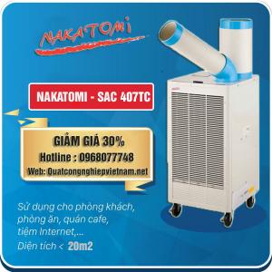 Bán máy lạnh di động Nakatomi SAC 407TC giá rẻ