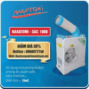 Bán máy lạnh di động Nakatomi SAC 1800 giá rẻ