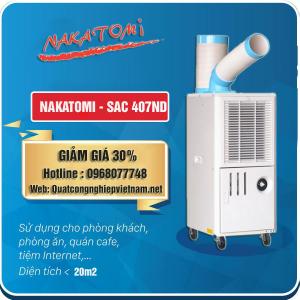 Bán máy lạnh di động Nakatomi SAC 407ND giá rẻ