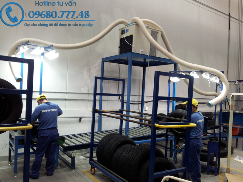 Máy điều hòa công nghiệp công suất lớn