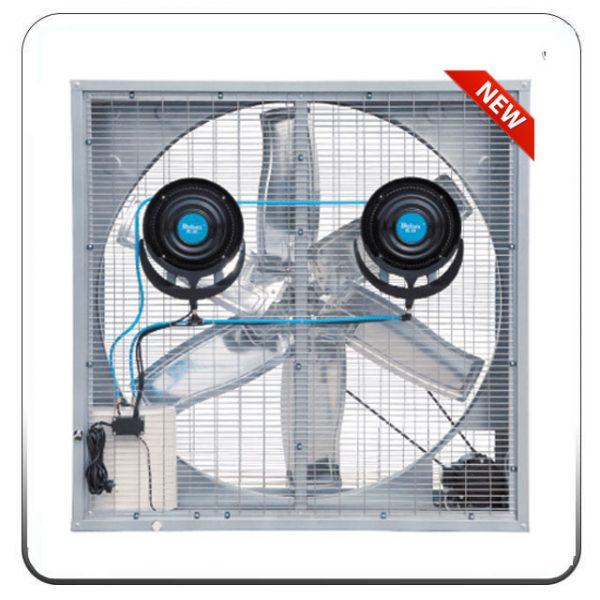 Quạt thông gió công nghiệp phun sương DF122-PS